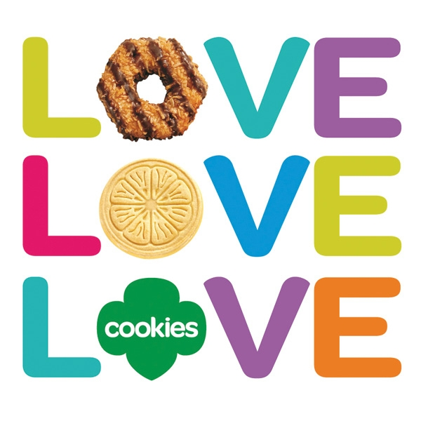 600x600 Girl Scout Cookie Photo Booth Clipart