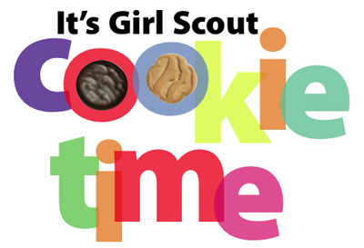 400x273 Girl Scout Cookie Photo Booth Clipart