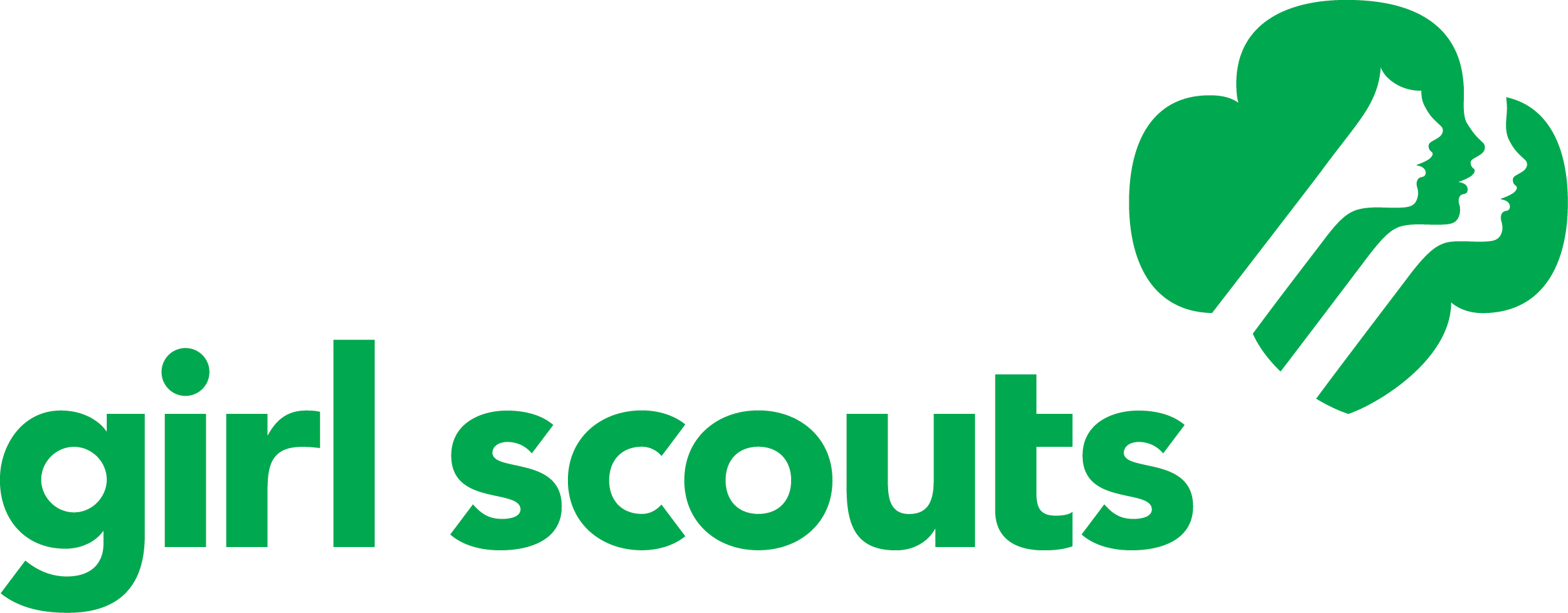 2424x948 Girl Scout Cookie Logo Clip Art