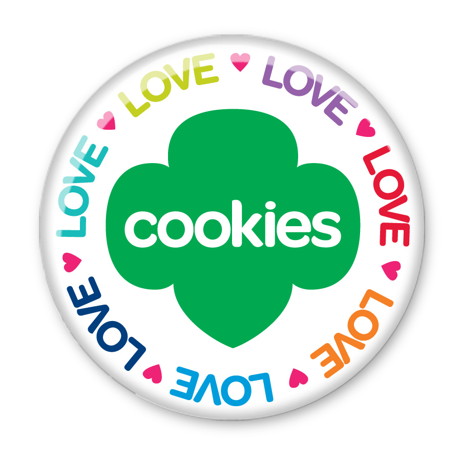 900x895 Girl Scout Cookie Clipart