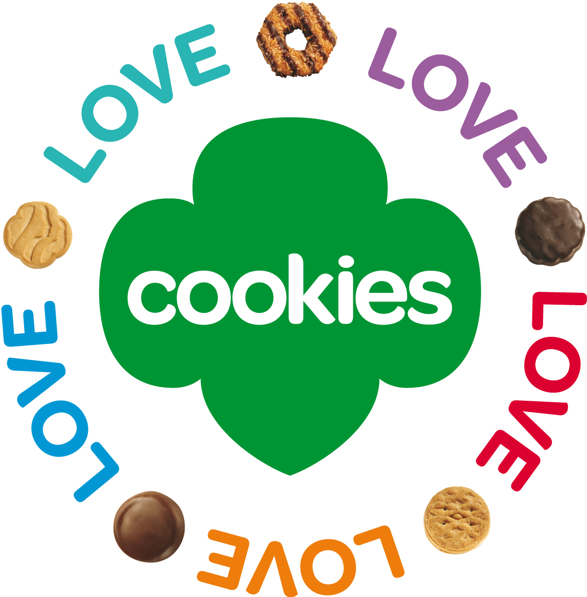 1148x1168 Clipart Cookie Girl Scout