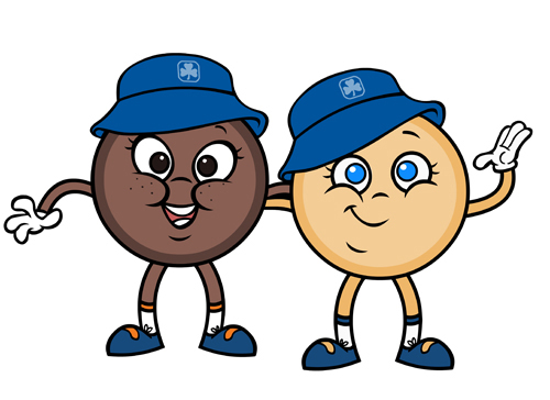 500x364 Girl Guide Cookie Clipart