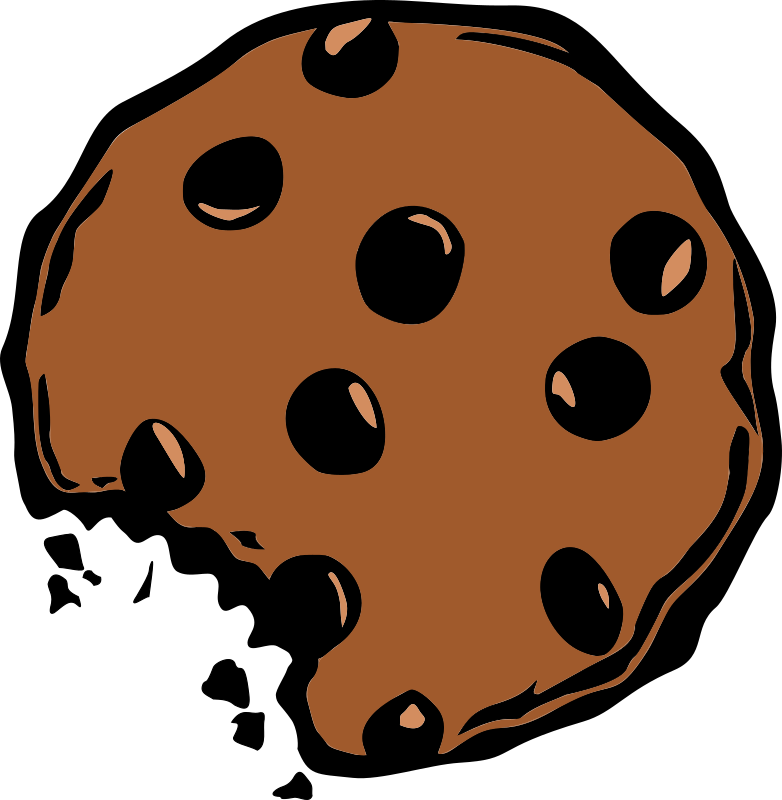782x800 Chocolate Chip Cookies Clipart