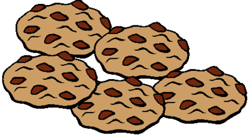 500x273 Cookie Clipart Five
