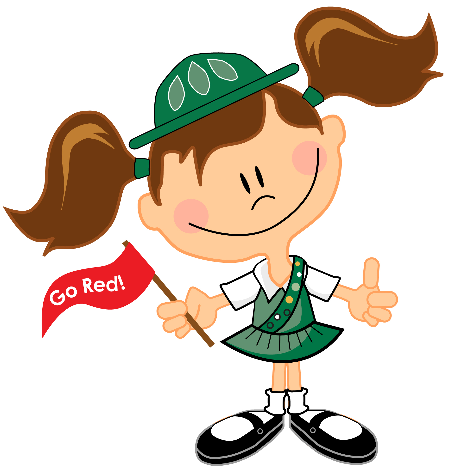 1867x1953 Girl Scout Cookie Thank You Clipart