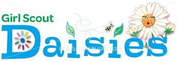 350x122 Daisy Girl Scout Logo Clip Art
