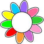 150x150 Girl Scout Cupcake Collars They Have The Daisy Petals, A Rainbow