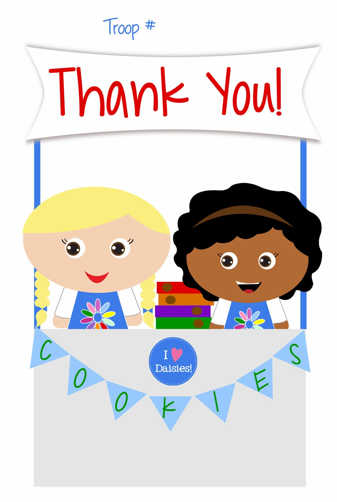 1076x1600 Girl Scout Cookie Thank You Cliparts