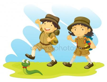 450x345 Boy Scout Stock Vectors, Royalty Free Boy Scout Illustrations