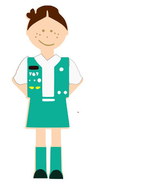 294x400 Junior Girl Scout Clipart 2200169