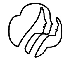 236x213 Girl Scout Symbol Clip Art
