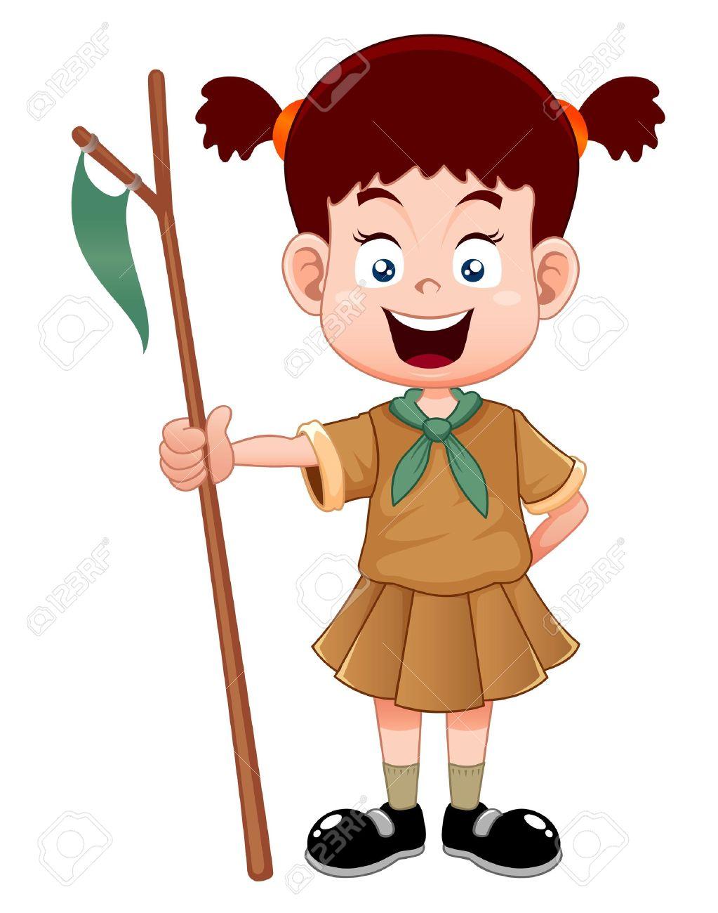 1023x1300 Girl Scout Uniform Clipart