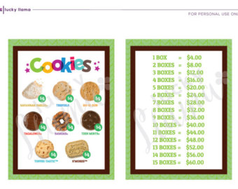 340x270 Girl Scout Cookie Etsy