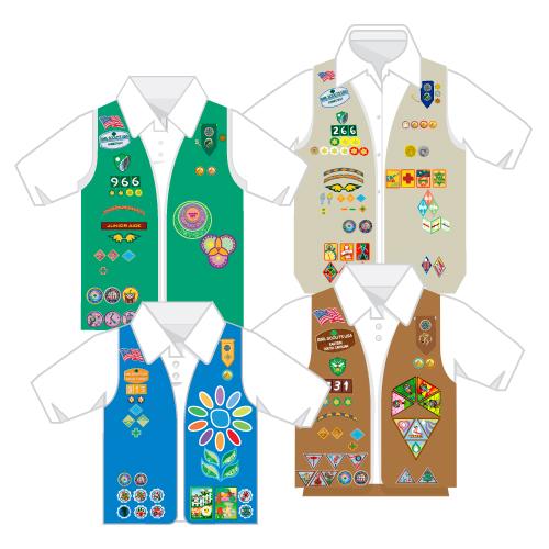500x500 Girl Scout Membership Star