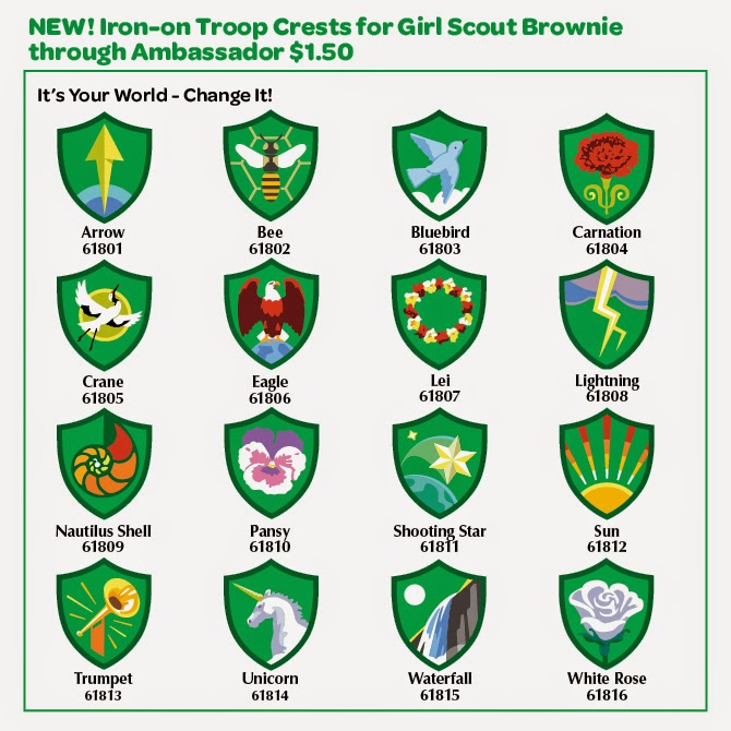 670x670 The Girl Scout Life Guide To Troop Crests