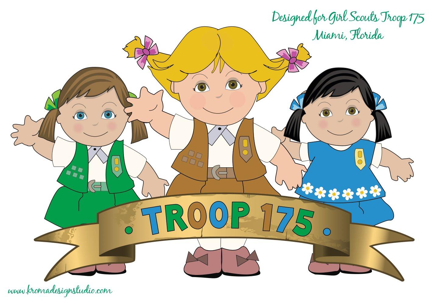 1409x983 Girl Scout Insignia Clip Art