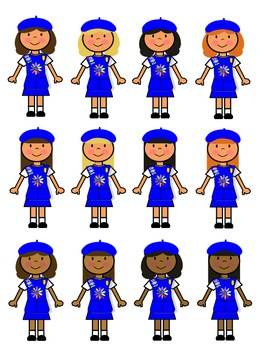 263x350 Daisy Girl Scout Clip Art By Girl Scout Store Teachers Pay Teachers