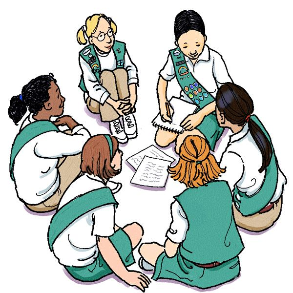 600x600 Girlscouts Clipart