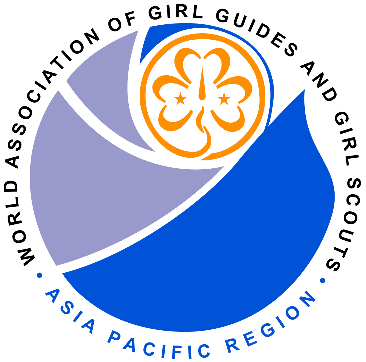 1200x1187 Asia Pacific Region (World Association Of Girl Guides And Girl