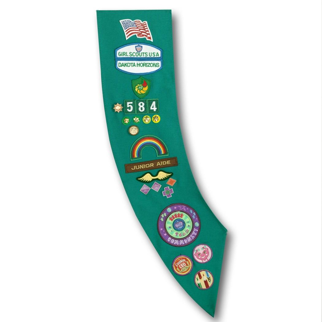 1050x1050 Junior Girl Scout Images Junior Girl Scoutsash (Regular) My