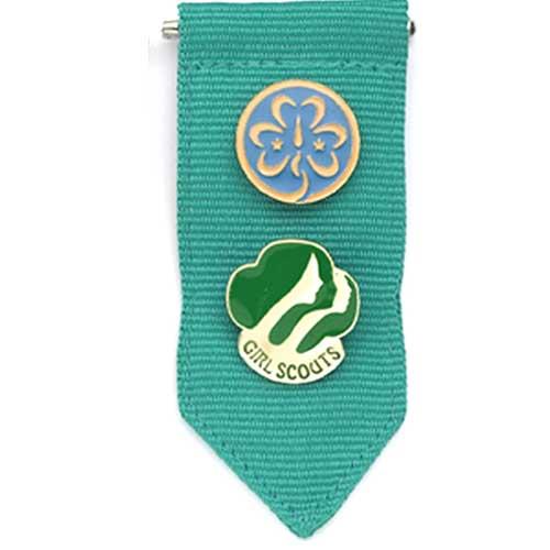500x500 Girl Scout Junior Insignia Tab