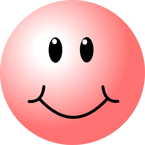 600x600 Free Online Smiley Face Clip Art