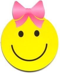 204x250 Girl Smiley Face Clipart