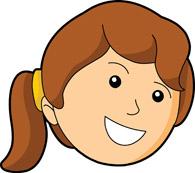 195x173 Girl Smiley Face Clipart Clipart Panda