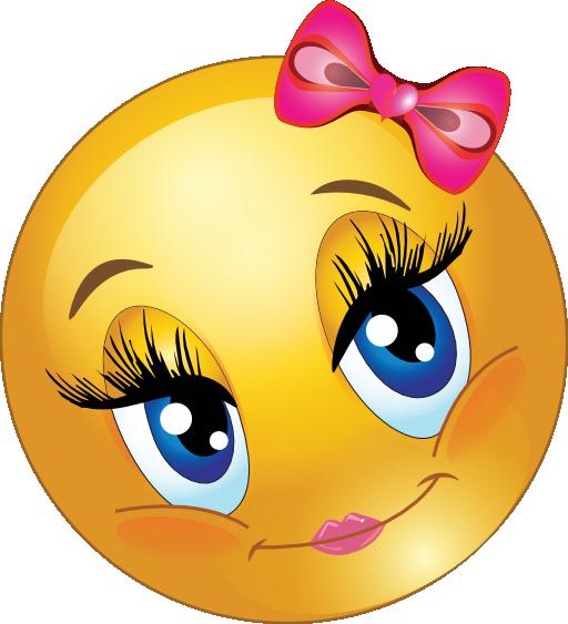 512x563 Clip Art Happy Girl Face Clipart
