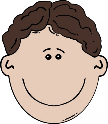 371x425 Face Clipart Little Boy