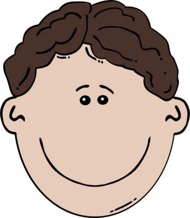 371x425 Face Clipart Little Boy