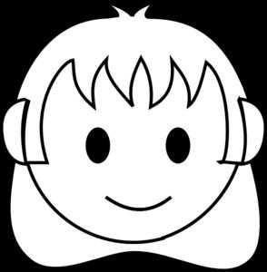 294x300 Girl Clipart Smiley Face