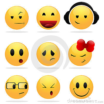400x400 Smiley Girl Clipart