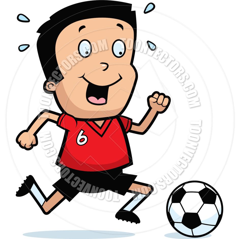 940x940 Cartoon Boy Soccer By Cory Thoman Toon Vectors Eps
