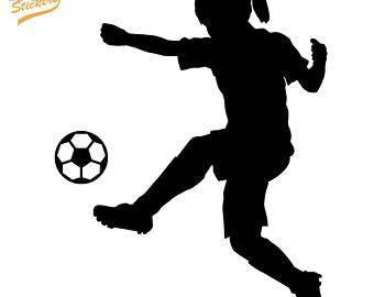 340x270 Female Soccer Player Etsy