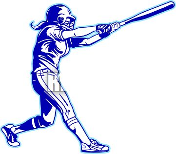 Girl Softball Clipart | Free download on ClipArtMag