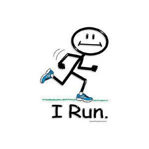 Girl Stick Figure Running