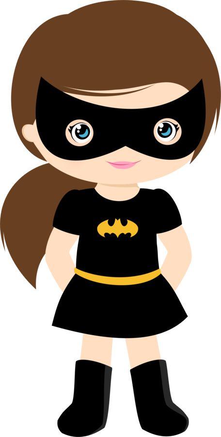 456x900 Super Girl Clipart Generic Superhero