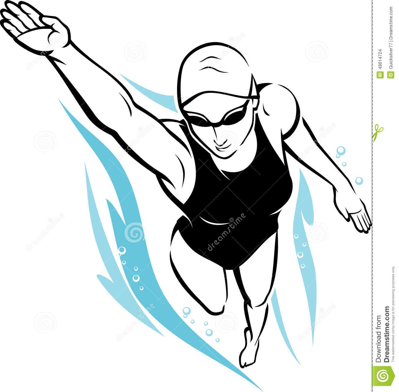 1321x1300 Swimming Clipart Female Swimmer