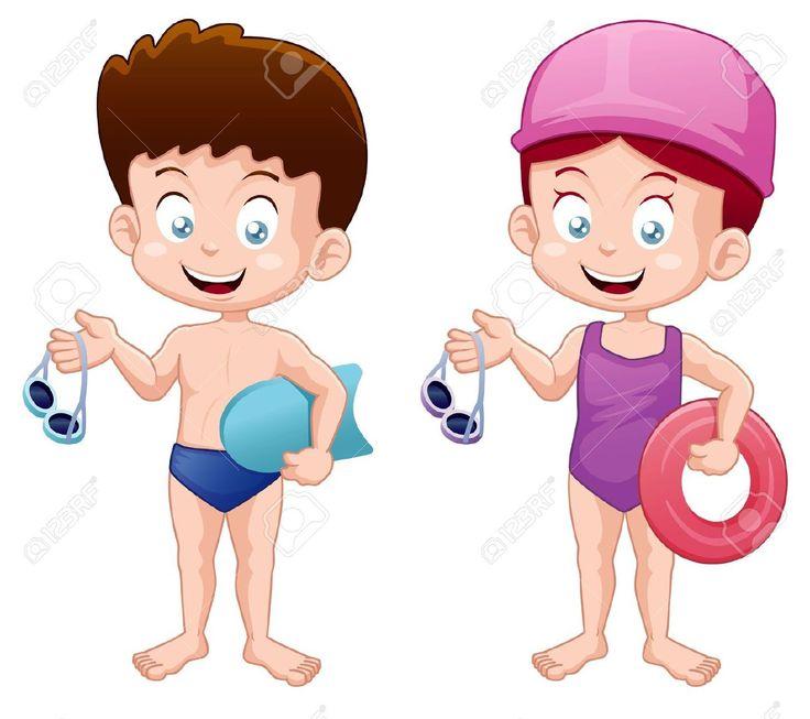 736x653 Costume Clipart Boys Swimming