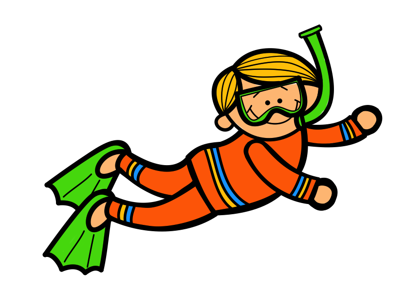 834x630 Diver Kids Swimming Clipart Free Clipart Images