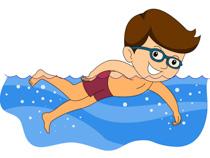 210x158 Swim Clipart