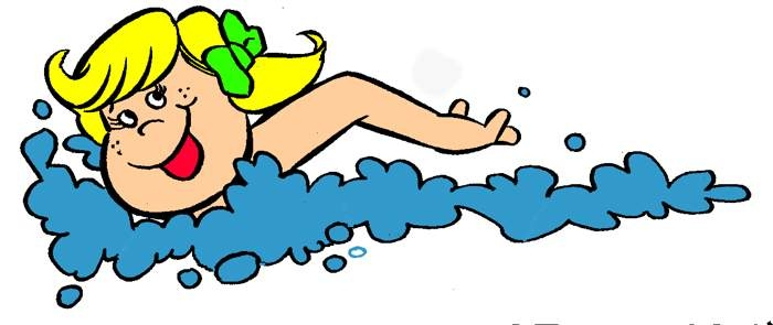 700x295 Swimming Clipart