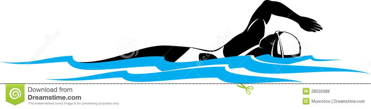 1300x383 Women Swimmer Clipart