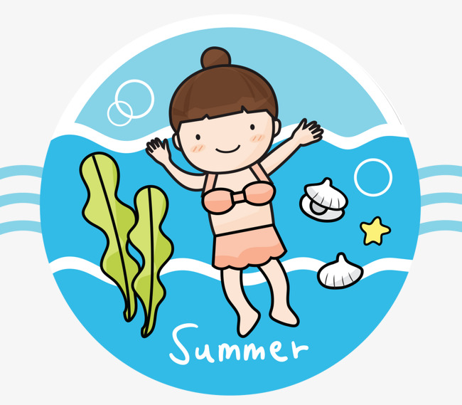650x569 Cartoon Swim Girl, Swim, Swimming Pool, Swimming Girl Png And Psd