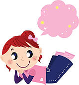 159x170 Girl Thinking Clip Art