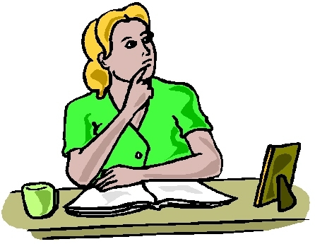 446x345 Girl Thinking Clipart Free Clip Art Images Image 2