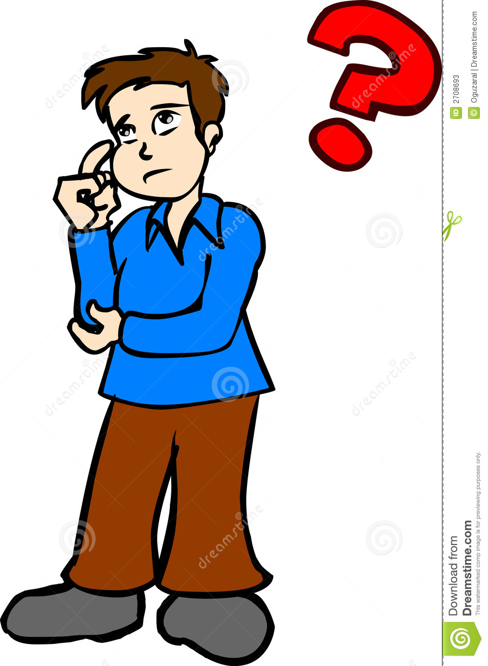 954x1300 Thinking Clipart