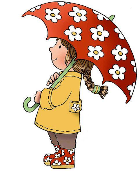483x590 Umbrella Clipart Child