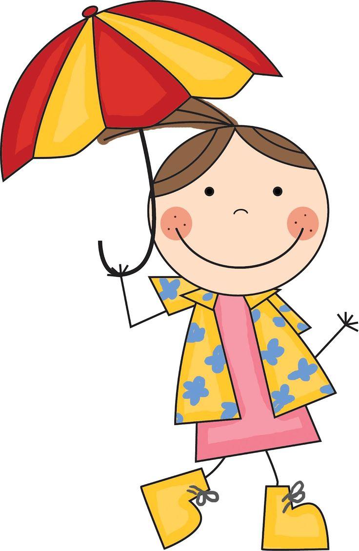 736x1130 Umbrella Clipart Lady